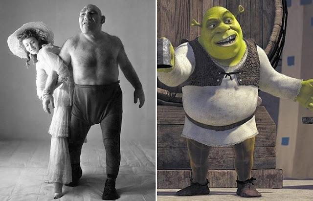 Shrek foi inspirado
