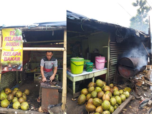 Tempat Kelapa Bakar di Bandung