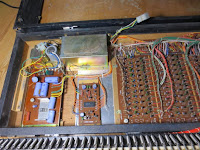 older digital piano internal parts