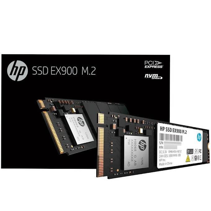 SSD HP EX900 1TB M.2 PCIe NVMe Leituras: 2150Mb/s e Gravações: 1815Mb/s - 5XM46AA#ABC
