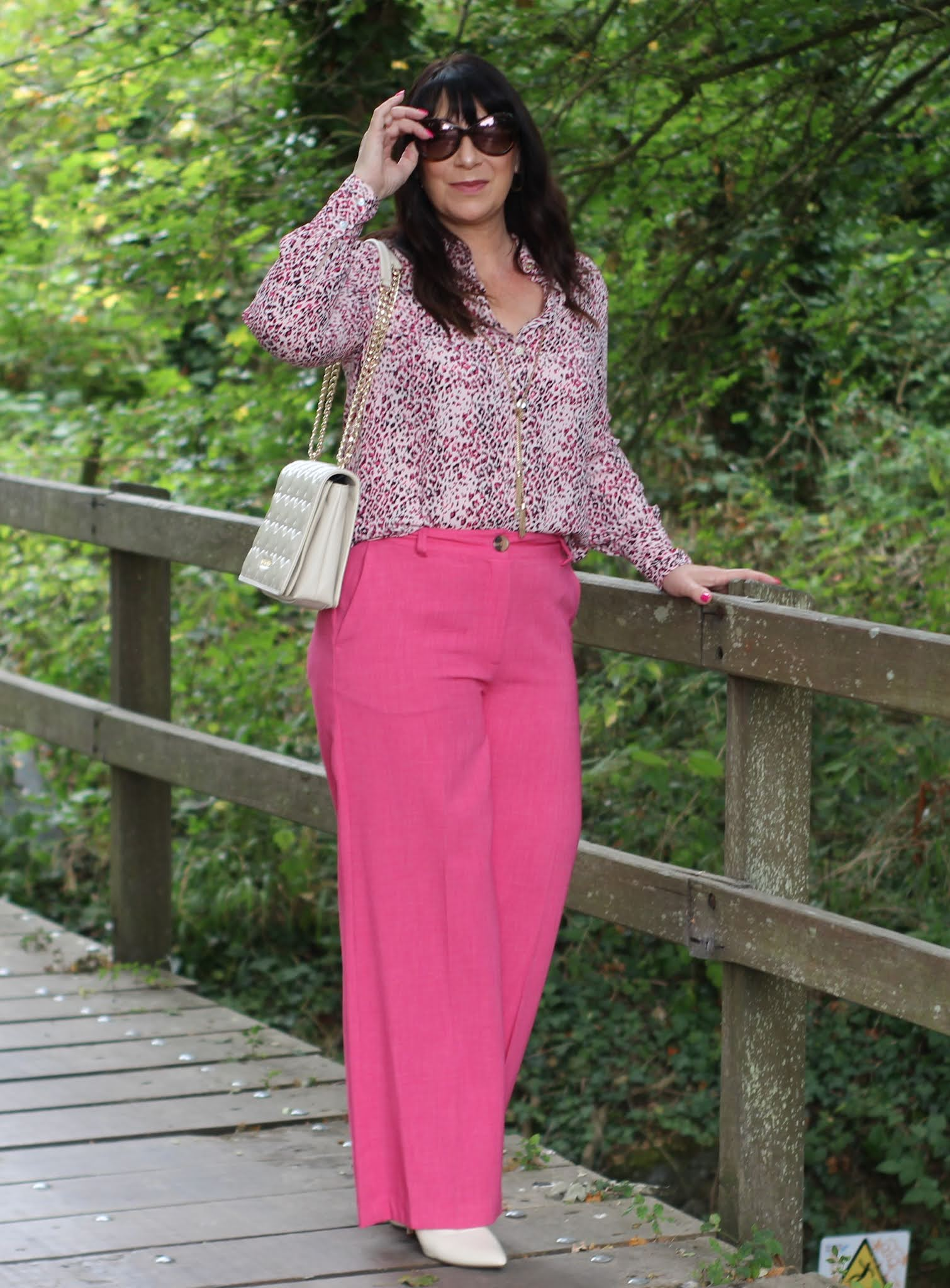 Style Not Age are Pretty in Pink.