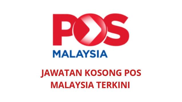 Jawatan Kosong Pos Malaysia Berhad 2021 (Pelbagai Negeri)
