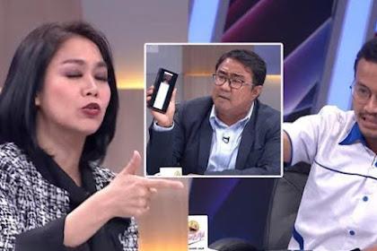 Di Mata Najwa, Jubir TKN 01 Keceplosan Menyebut Jokowi  Memiliki Banyak Intel