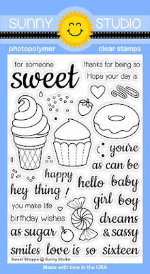 Sunny Studio Stamps: Introducing New Sweet Shoppe Stamp Set