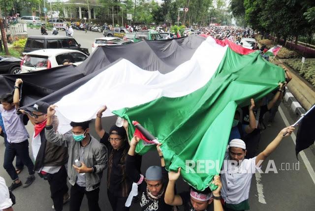 Ini Pesan Kedubes Palestina untuk Peserta Aksi 1712