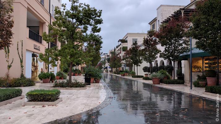 Порто Монтенегро осенью, Черногория