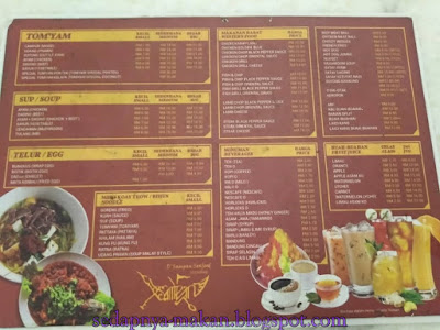 menu restoran Dsampan