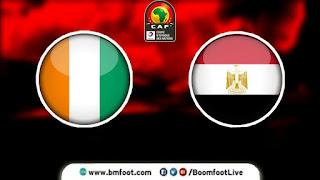 ماتش مصر أولمبي و كوت ديفوار