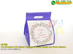 Tas Spunbond Full Colour Pegangan Bambu Wahyu Dan Zahra Custom