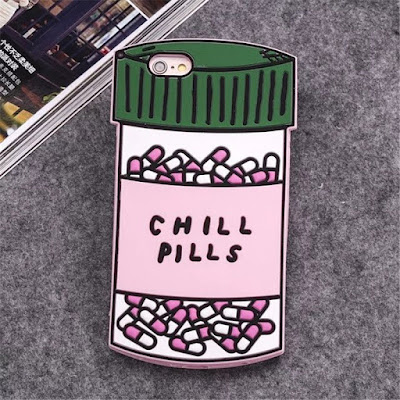 chill pill iphone cover