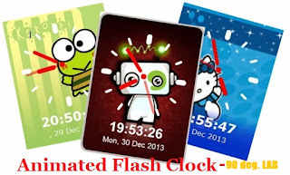 How To Add Animated Flash Clock To Your Blogger Blog