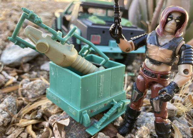 1984 Zartan and Chameleon, 1986 Thrasher, Sears Exclsive Dreadnok Ground Assault, Stinger