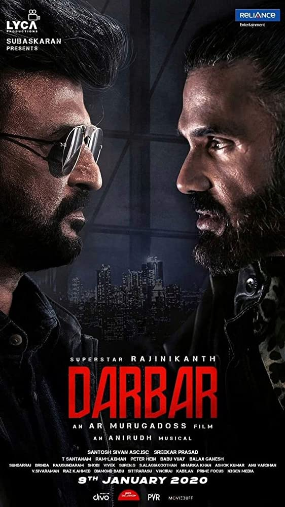 Nonton Download Film Darbar (2020) Full Movie Sub Indo