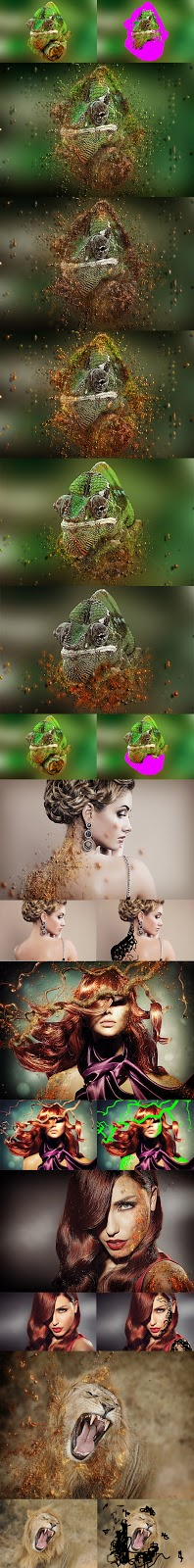 Particles Dispersion Action (GraphicRiver – 10112520)