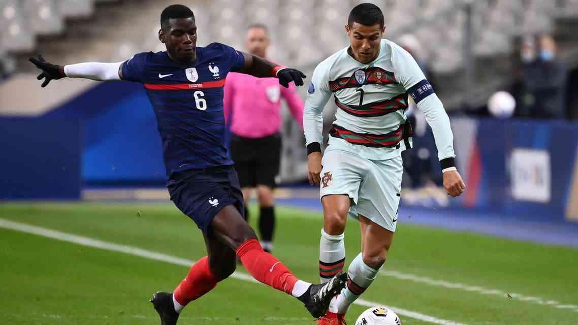 مباراة فرنسا والبرتغال في كأس الامم الاوروبيه
