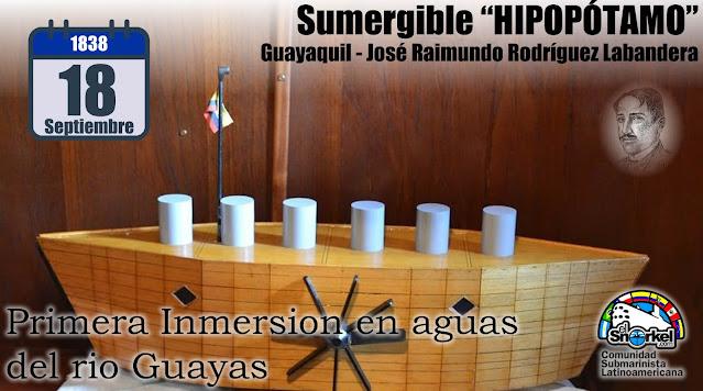Hipopótamo: El primer submarino latinoamericano (Ecuador)