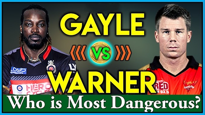 IPL 2019: Gayle and Warner have almost played same matches in IPL, See who's most dangerous