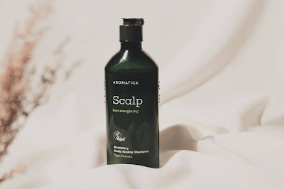 review aromatica rosemary scalp scalling shampoo indonesia