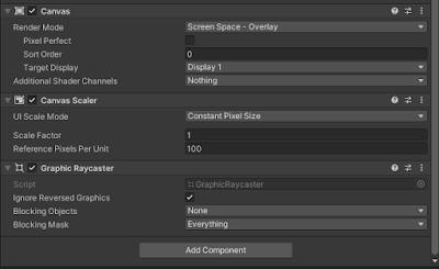 Unity UI Canvas
