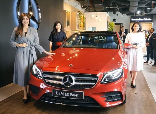 Peluncuran Mercedes- Benz E 350 EQ Boost