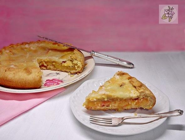 Apple Pie Vegan con Glaseado de Limon o Tarta de Manzana Clasica Americana