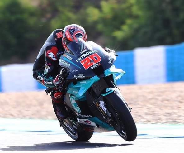 Fabio Quartararo Pole Position Motogp Jerez Spanyol 2020