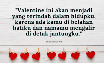 Kata-kata ucapan Hari Valentine romantis