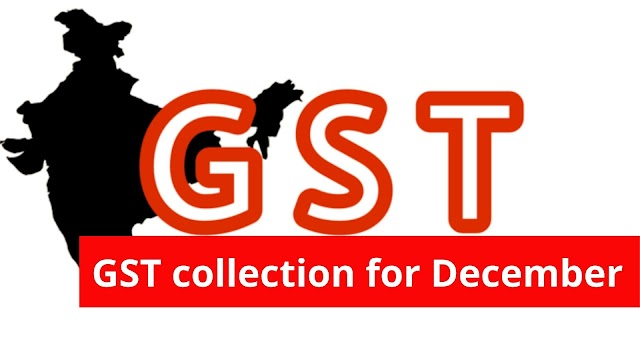GST recovery The GST collection figures for December of 2019