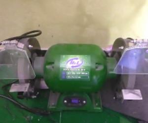 komponen mesin gerinda duduk dan fungsinya