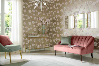 Bring Life To The Walls With Living Room Wallpapers 10