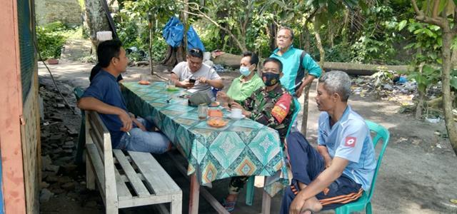 Dengan Cara Komsos Personel Jajaran Kodim 0207/Simalungun Jalin Silaturahmi Dengan Ketua RAPI Siantar
