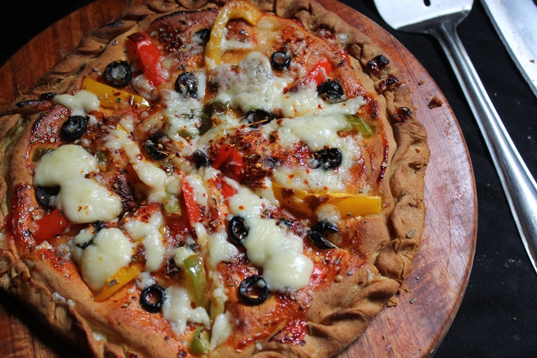 Dominos Cheese Burst Pizza Recipe - Dominos Secret Recipe ...