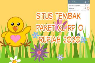 Situs Tembak Paket XL Rp 0 Rupiah 2020