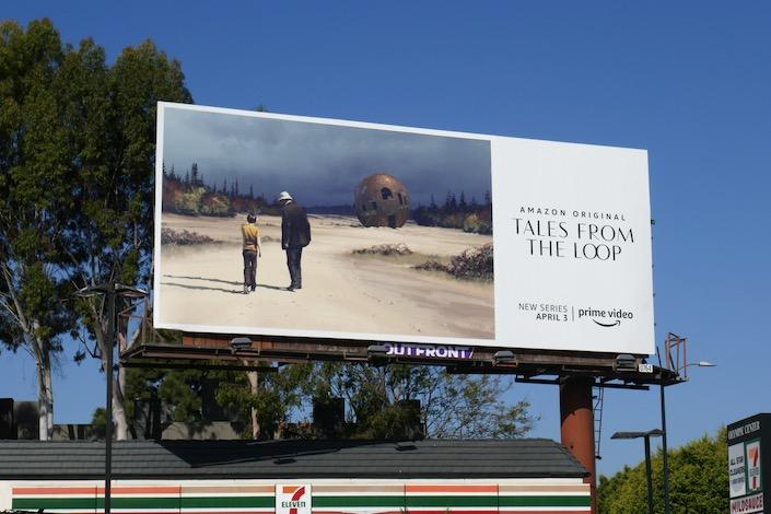 Tales from the Loop series billboard