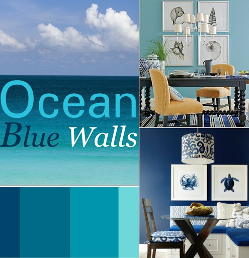 Blue Wall Colors Interior Paint Ideas for the Home Every Room