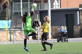 El Barakaldo CF gana 2-0 en La Siebe ante el Añorga B