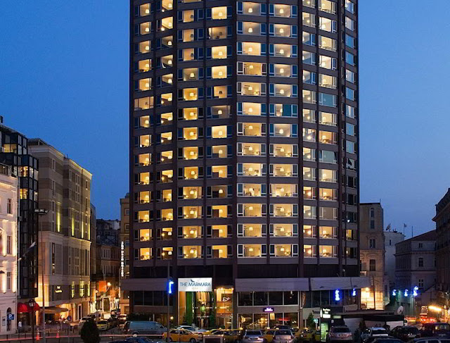 فندق ذا مرمرة بيرا تقسيم اسطنبول The Marmara Pera Istanbul Hotel