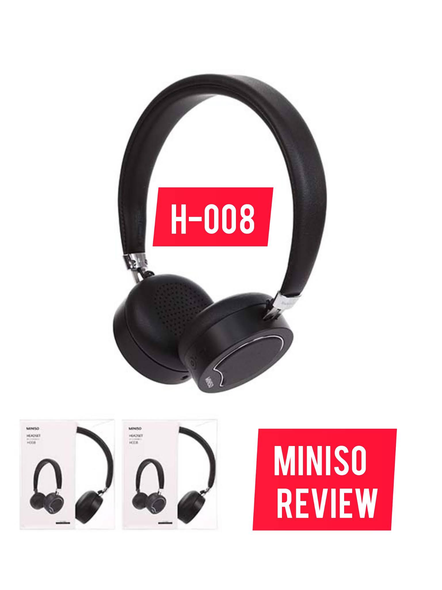 Wireless Headset Model: H-008 (Black)
