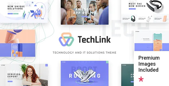 Technology and IT Solutions WordPress Theme