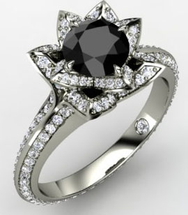 Getting black diamonds engagement rings is excellent