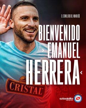 Oficial: Argentinos Juniors, firma Emanuel Herrera