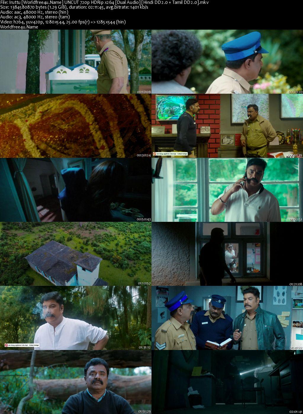 Iruttu 2019 Hindi Dubbed HDRip 720p ESub