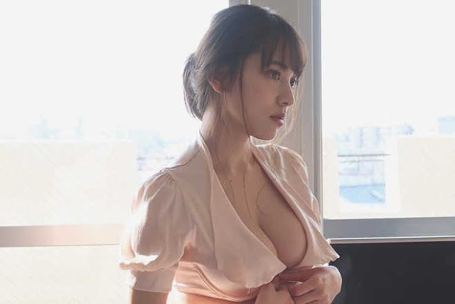 Ba hot girl Nhật Bản có vẻ ngoài cuốn hút, sở hữu vòng một khủng