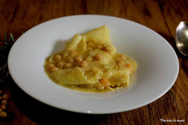 Über die Kunst des Weglassens in der Küche Italiens: Pasta e ceci
