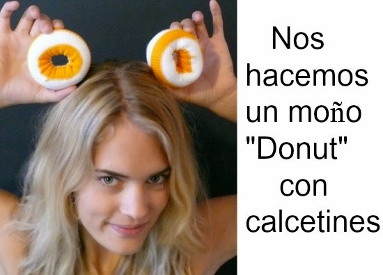 peinados, hairstyle, moños, donuts, calcetines, cabello, pelo