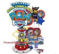 Logo Concorso Paw Patrol : vinci gratis 48 veicoli e 3 Super Kit Festa di Compleanno