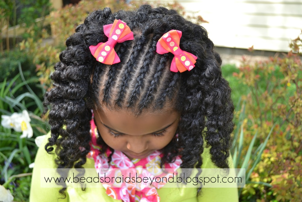 Admirable Beads Braids And Beyond Easter Hairstyles For Little Girls With Hairstyles For Women Draintrainus