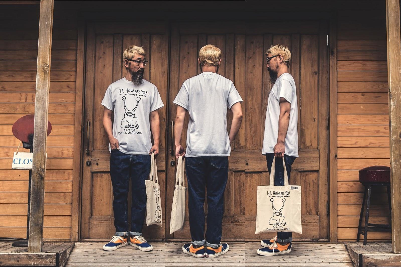 ダニエル ジョンストン DANIEL JOHNSTON ニルバーナ カートコバーン Tシャツ グランジ ファッション コーディネート 通販
