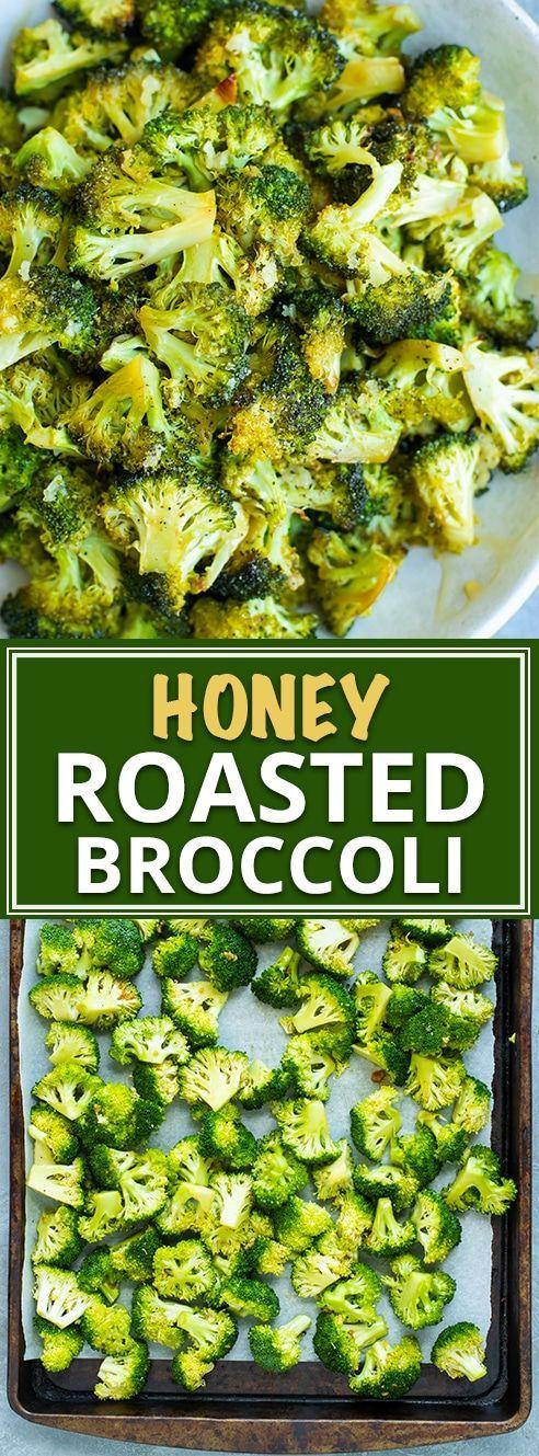 Honey Oven Roasted Broccoli Recipe