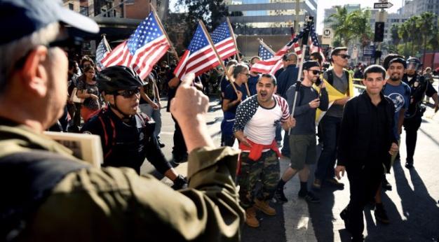 Los Angeles Police Spied on Anti Trump protestors